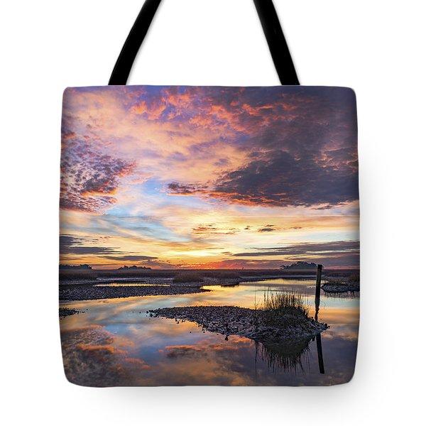 Sunrise Sunset Image Art - Oh Happy Days Tote Bag