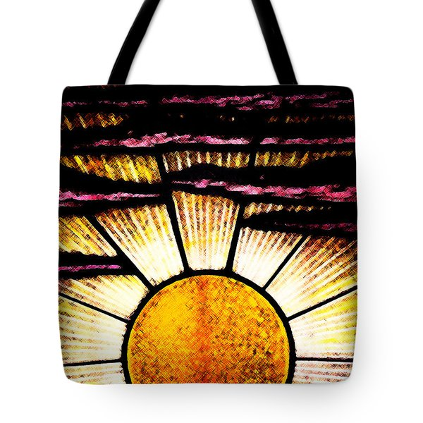 Tote Bag featuring the photograph Sunrise Sunset by Linda Shafer