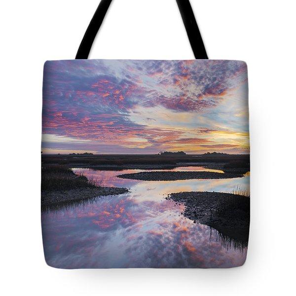 Sunrise Sunset Phot Art - Baby Blues Tote Bag