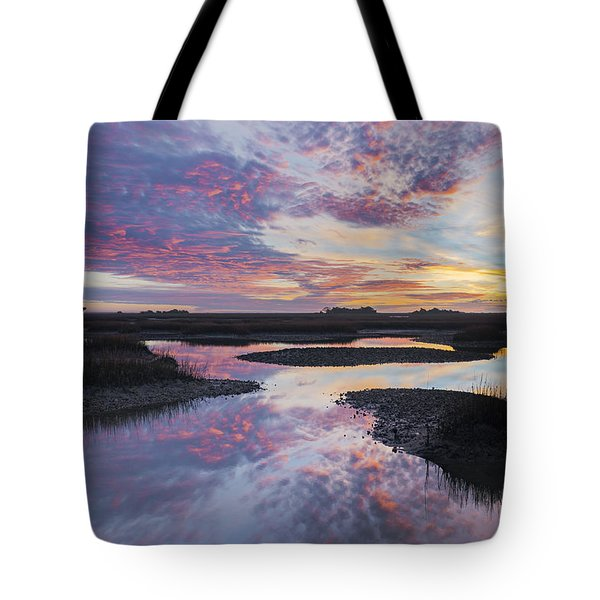 Sunrise Sunset Phot Art - Baby Blues Tote Bag
