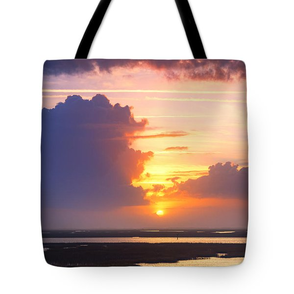 Sunrise Sunset Phot Art - Lo And Behold Tote Bag