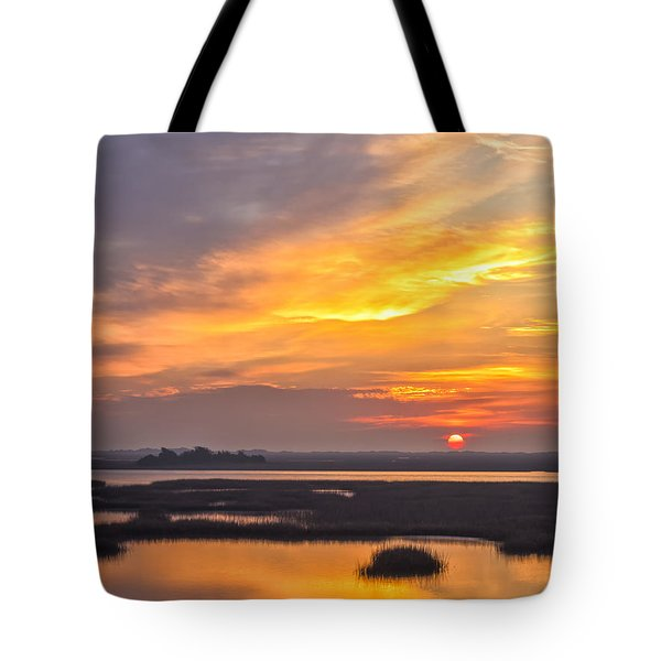 Sunrise Sunset Phot Art -  Out There Somewhere Tote Bag