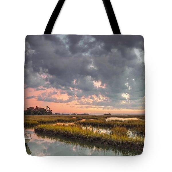 Sunrise Sunset Photo Art - Carpe Diem II Tote Bag