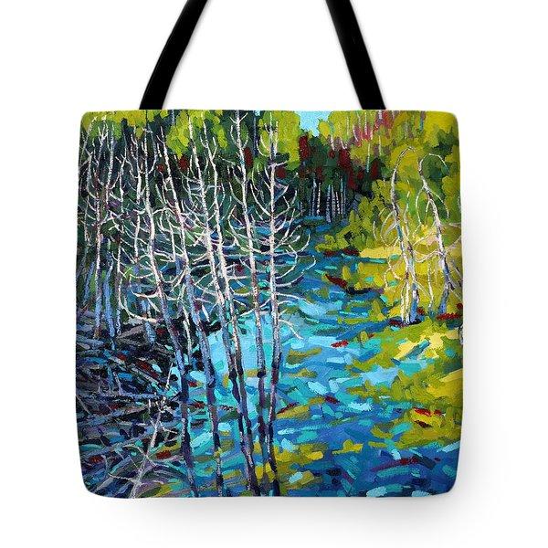 Sunrise Swamp Tote Bag