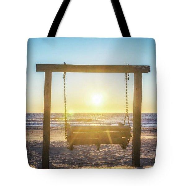 Sunrise Swings Tote Bag