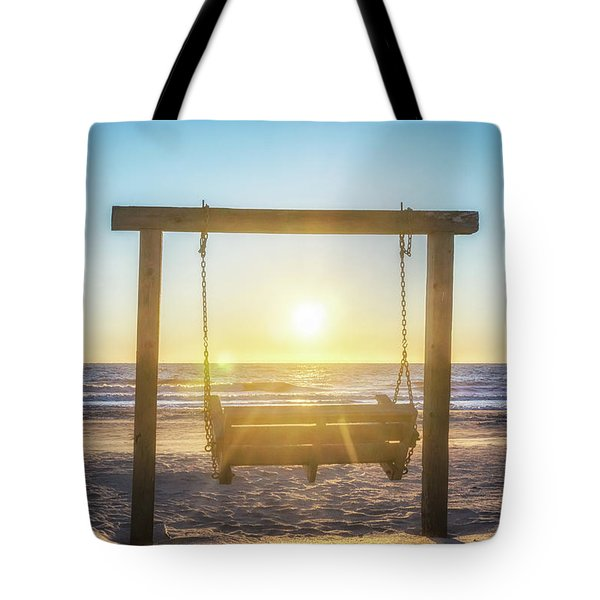 Sunrise Swings Tote Bag
