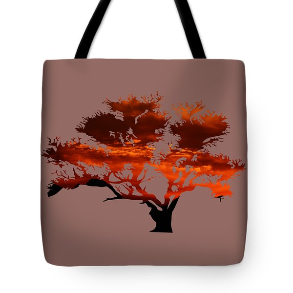 Sunrise Tree 2 Tote Bag