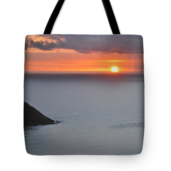 Tote Bag featuring the photograph Sunrise View by Amee Cave