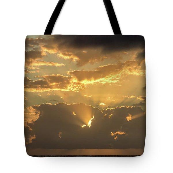 Sun's Rays Tote Bag