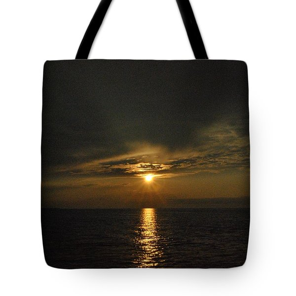 Sun's Reflection Tote Bag