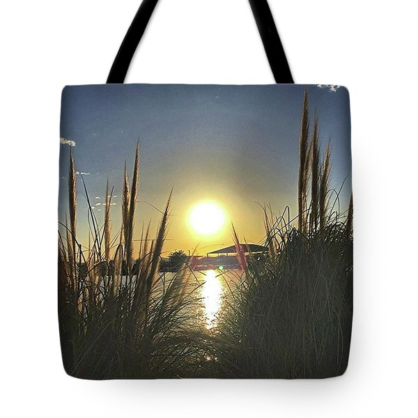 Sunset @ Copper Sky Tote Bag