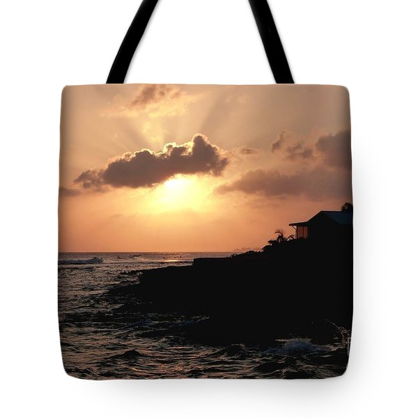 Sunset @ Spotts Tote Bag