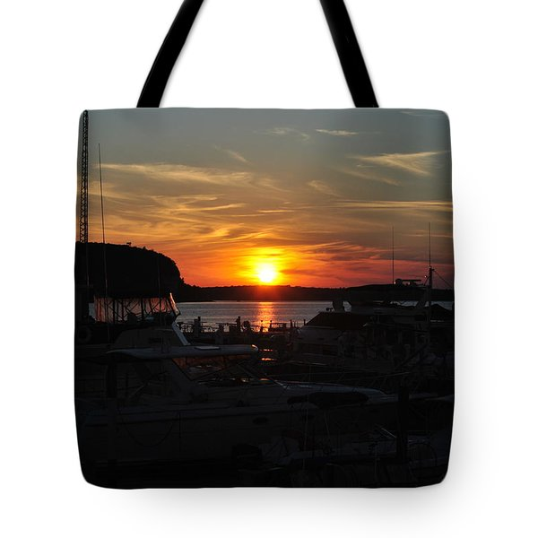 Harbor In Ephraim Tote Bag
