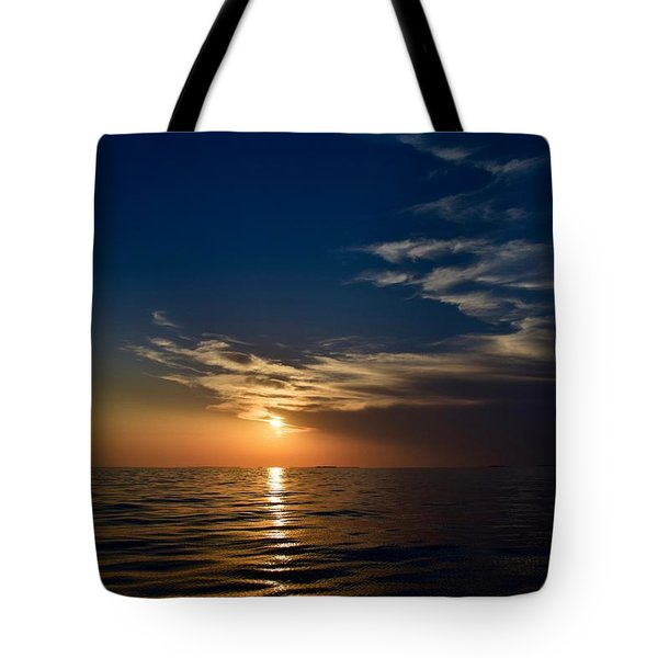Sunset 1  Tote Bag by Shabnam Nassir
