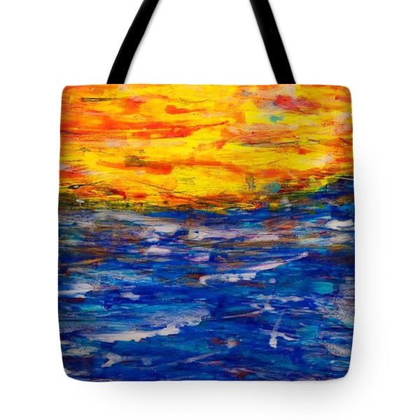 Sunset 15-17 Tote Bag