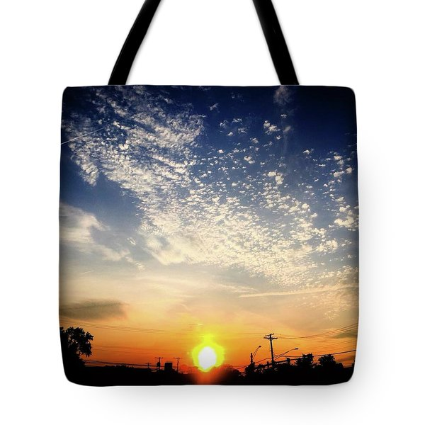 Sunset 25 May 16 Tote Bag