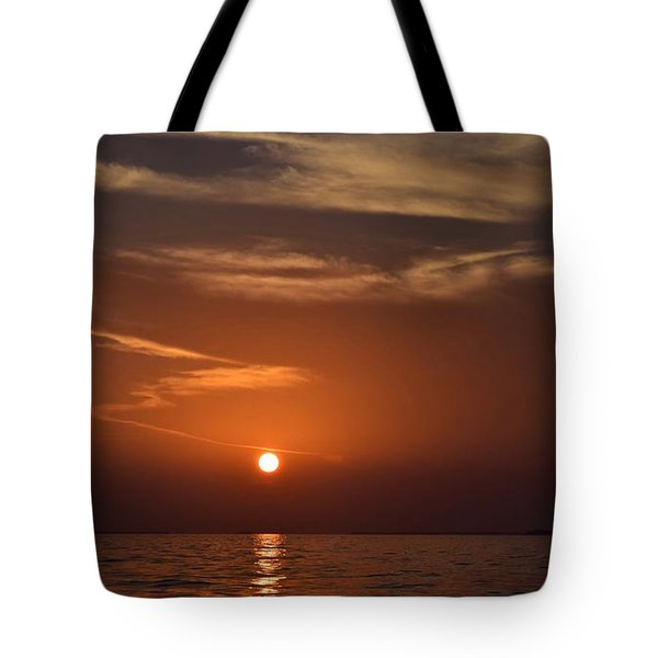 Sunset 3 Tote Bag by Shabnam Nassir
