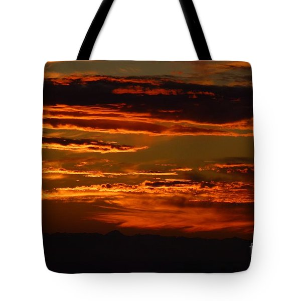 Sunset 5 Tote Bag by Jean Bernard Roussilhe