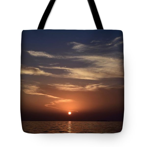 Sunset 5 Tote Bag by Shabnam Nassir