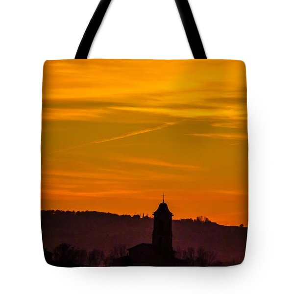 Sunset 6 Tote Bag by Jean Bernard Roussilhe