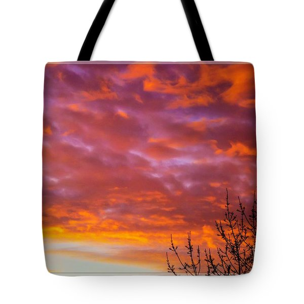 Sunset 7 Tote Bag by Jean Bernard Roussilhe