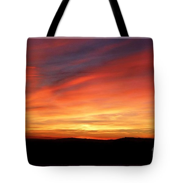 Sunset 9 Tote Bag by Jean Bernard Roussilhe