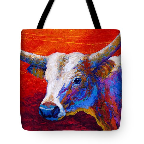Sunset Ablaze Tote Bag