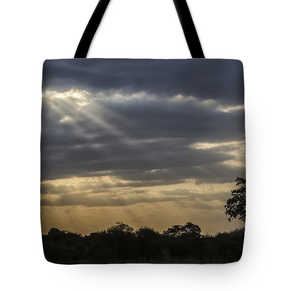 Sunset Africa 2 Tote Bag