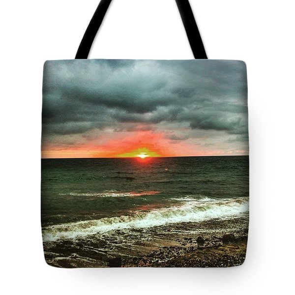 Sunset After The Rain Tote Bag