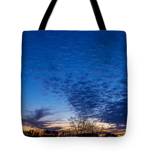 Sunset And Moon Sliver Tote Bag