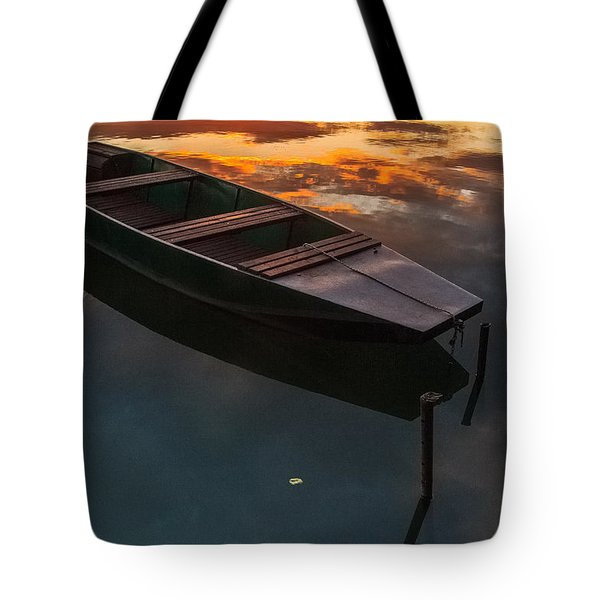 Tote Bag featuring the photograph Sunset Aquarelle by Davorin Mance