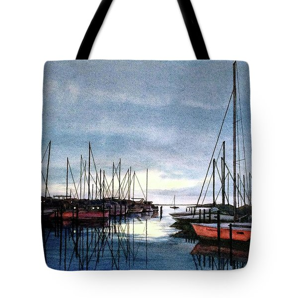Sunset At Apollo Beach Tote Bag by Janet King
