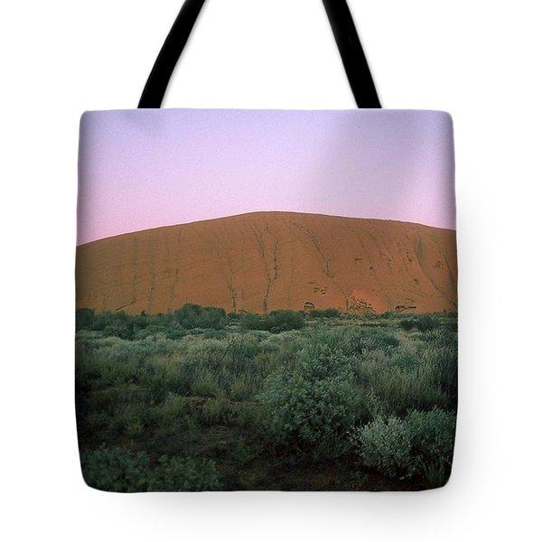 Sunset At Ayre's Rock Tote Bag