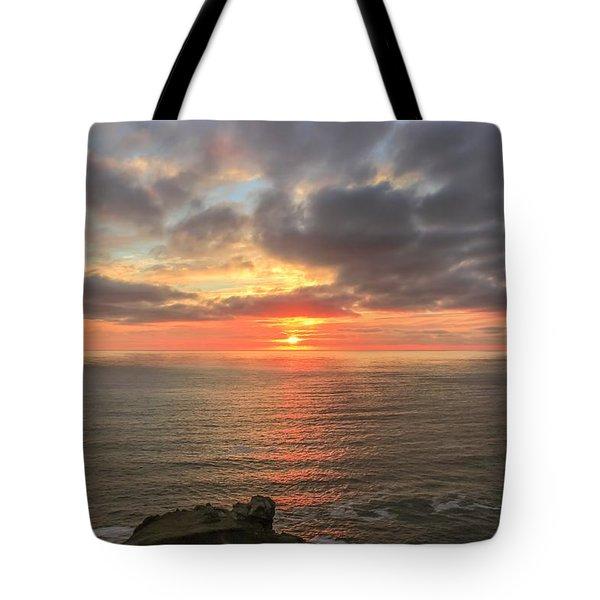 Sunset At Botallack  Tote Bag