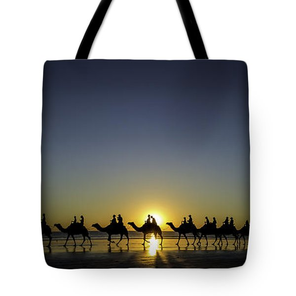Sunset At Cable Beach Tote Bag