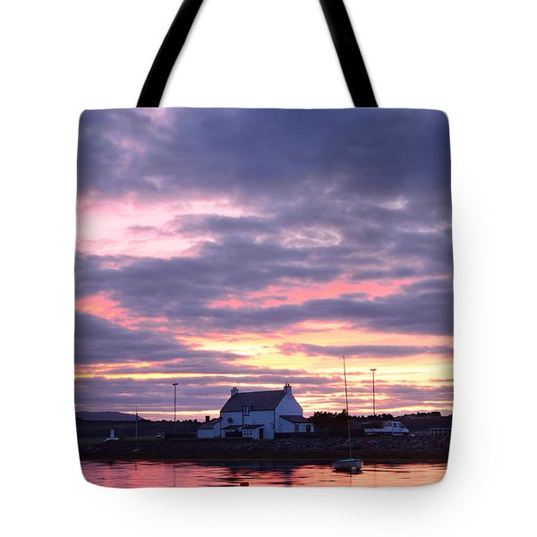 Sunset At Clachnaharry Tote Bag
