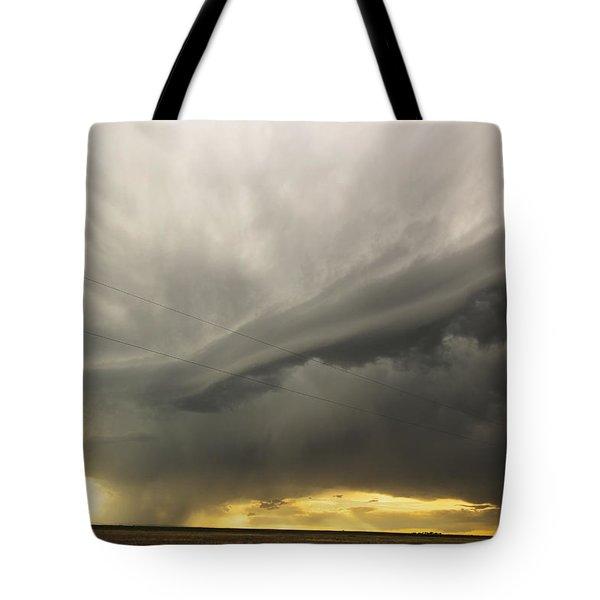 Sunset At Dalhart Texas Tote Bag