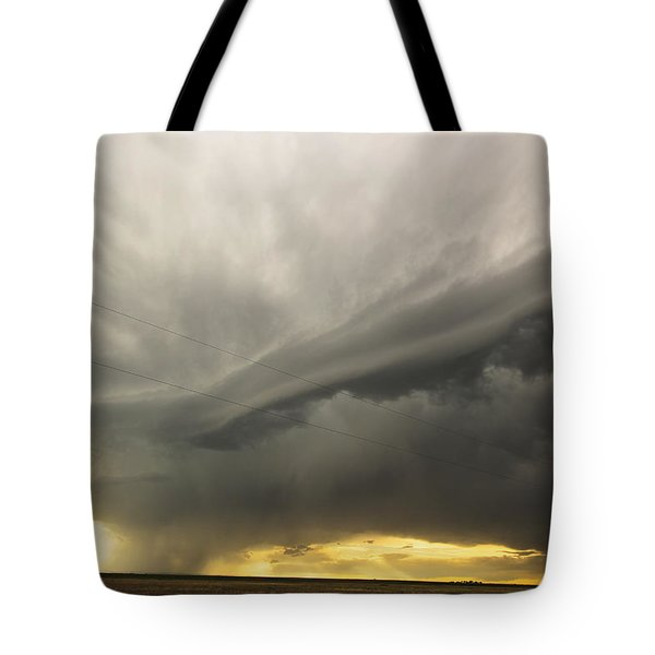 Sunset At Dalhart Texas Tote Bag by Ryan Crouse