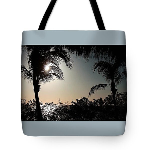 Tote Bag featuring the photograph Sunset At Flamingo 1 by Ellen Barron O'Reilly