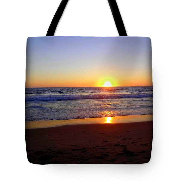 Sunset At Hermosa Tote Bag