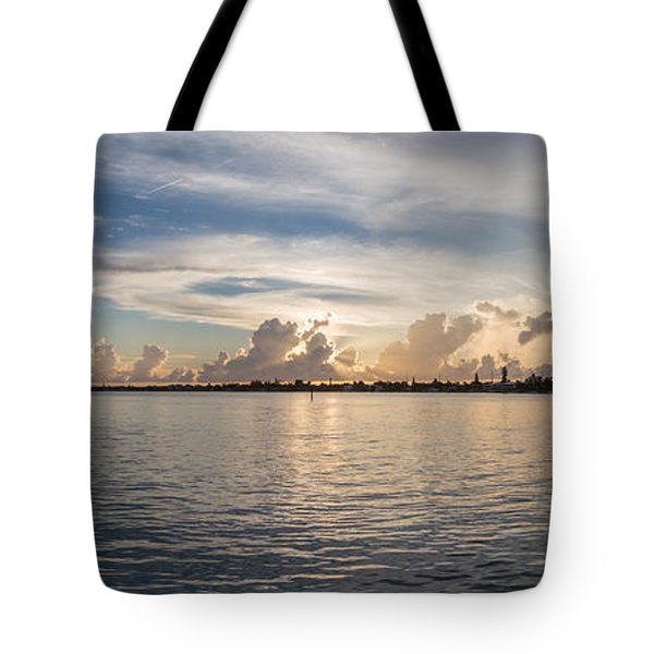 Sunset At Key Largo Tote Bag
