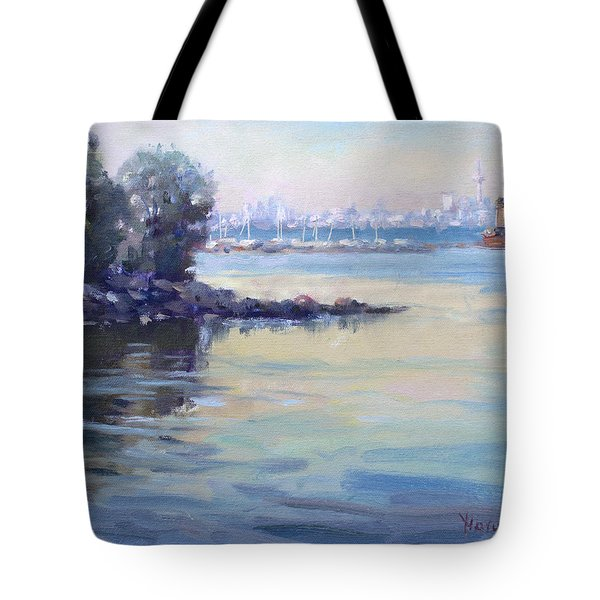 Sunset At Lake Ontario  Tote Bag
