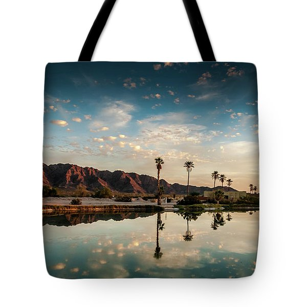 Sunset At Las Barancas Tote Bag