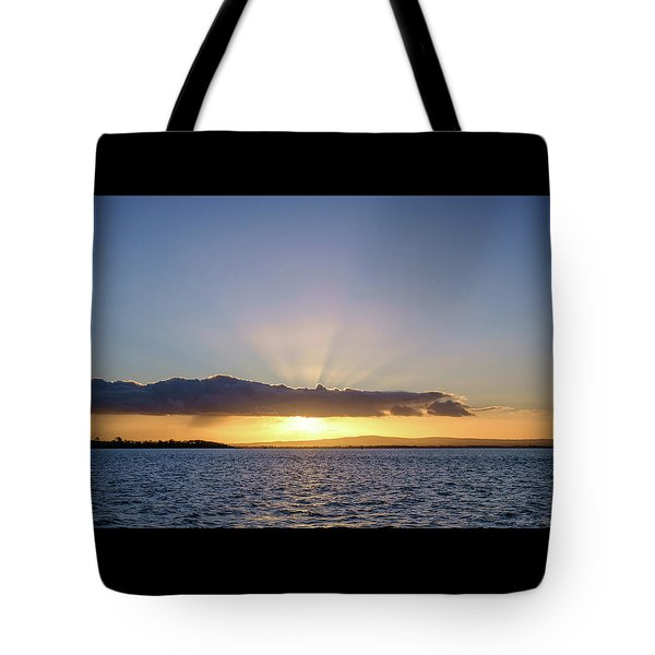 Sunset At Lough Derg Tote Bag