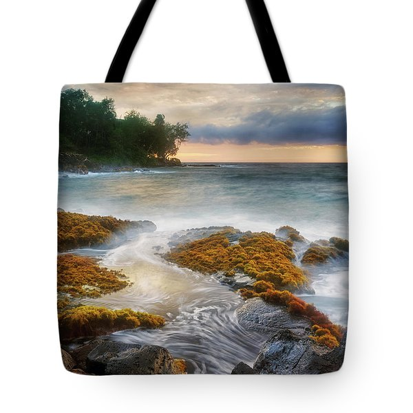 Sunset At Lyman's Tote Bag