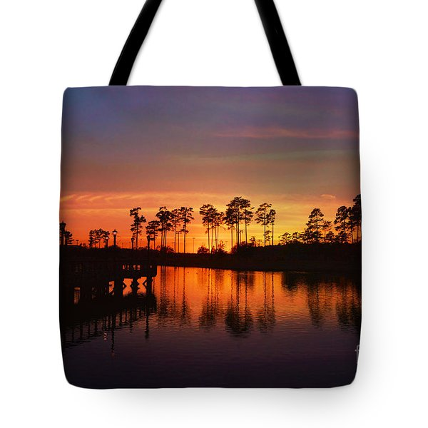 Sunset At Market Commons II Tote Bag
