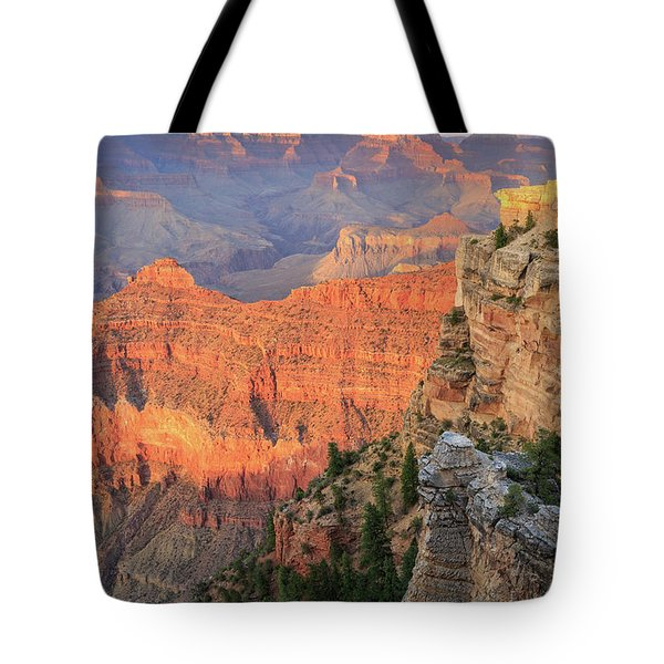 Sunset At Mather Point Tote Bag