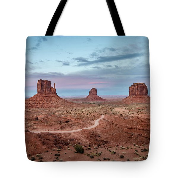 Sunset At Monument Valley No.1 Tote Bag