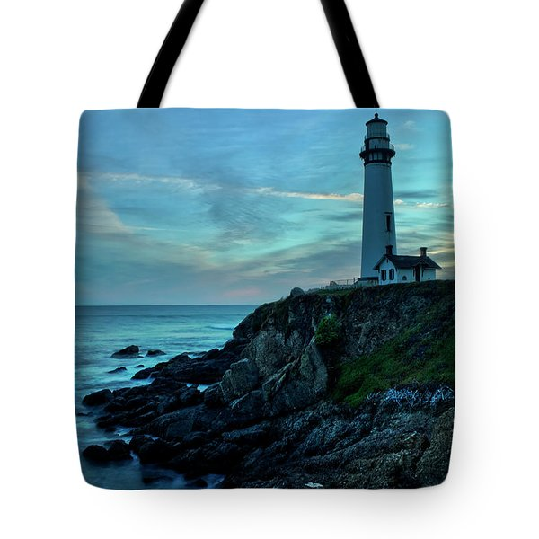 Sunset At Pigeon Point Tote Bag