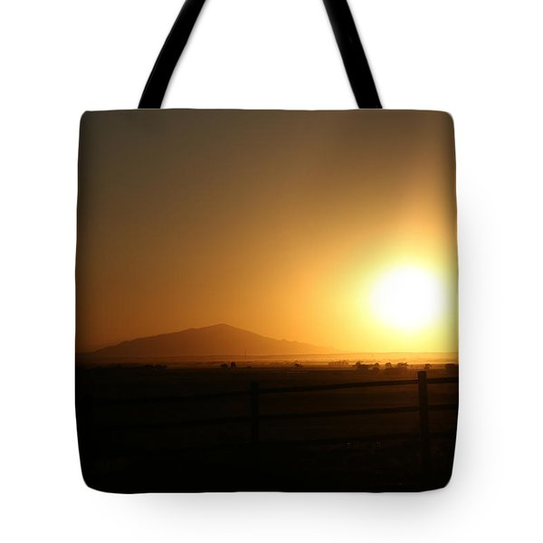 Sunset At Roswell New Mexico  Tote Bag